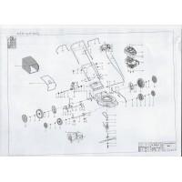 Onderdelen lijst WCD 46 SP OHV
