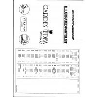 Onderdelenlijst VT 3,5-4,0