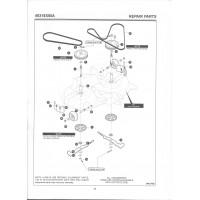 Onderdelenlijst Maaideck 40318X50 deel 2