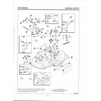 Onderdelenlijst Maaideck 40371X50A